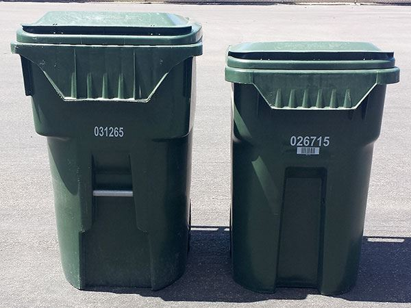 96-Gallon and 64-Gallon Trash Carts