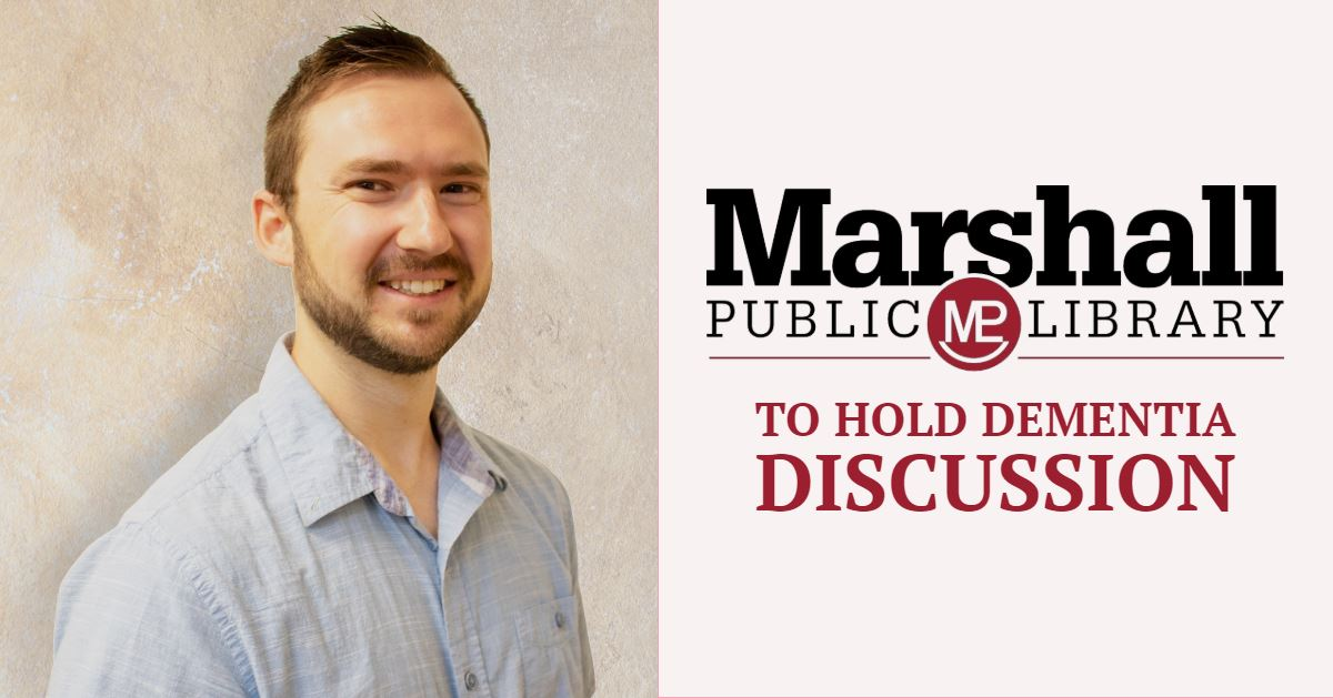 "Wednesday, October 3 at 7 p.m., the library will host a discussion with Wes Ward, NP-C., called ""Dem"
