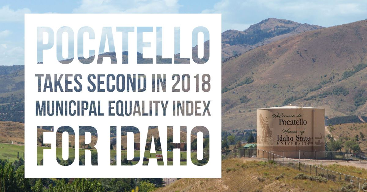 Pocatello continues to be a leader in the Gem State according to a new report from the Human Rights