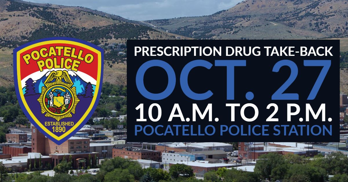 Officers with the Pocatello Police Department will be taking your unwanted and unused medications of