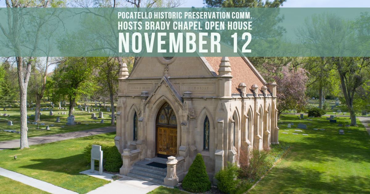 Pocatello's Brady Chapel will be opening its doors this month.