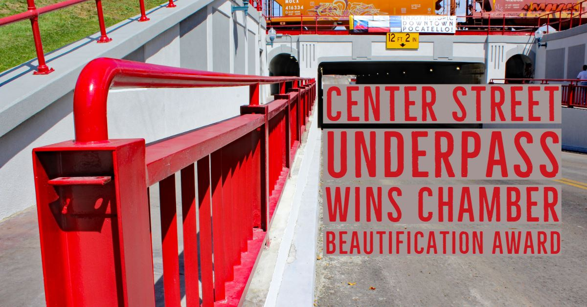 The Center Street Underpass took home the honors in a beauty pageant of sorts.