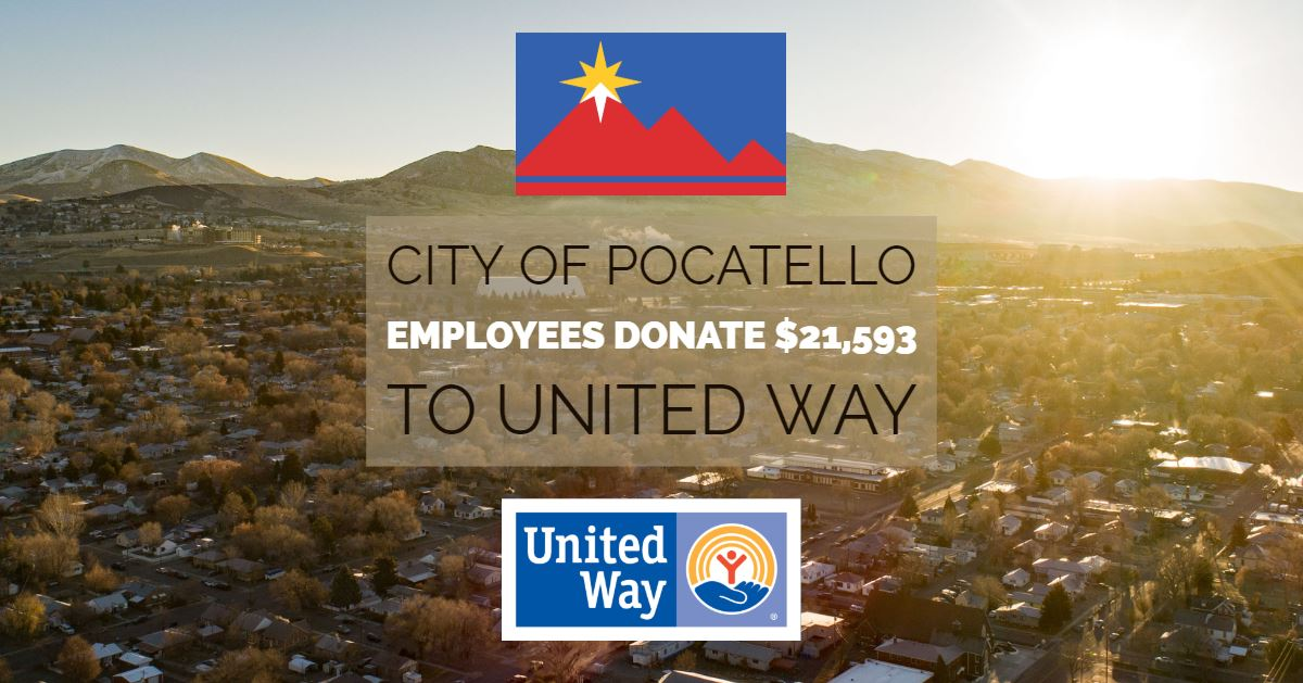 The City of Pocatello's employees have cracked open their wallets for the United Way of Southeastern