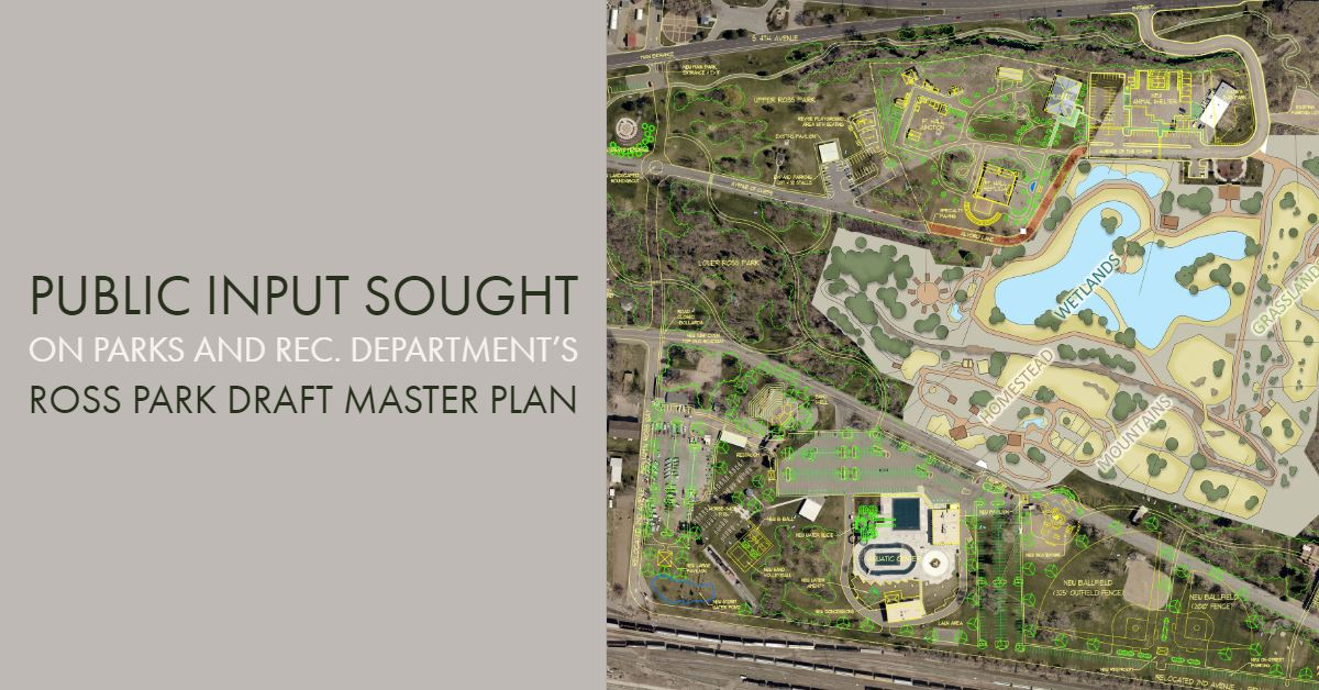 Ross Park Draft Master Plan