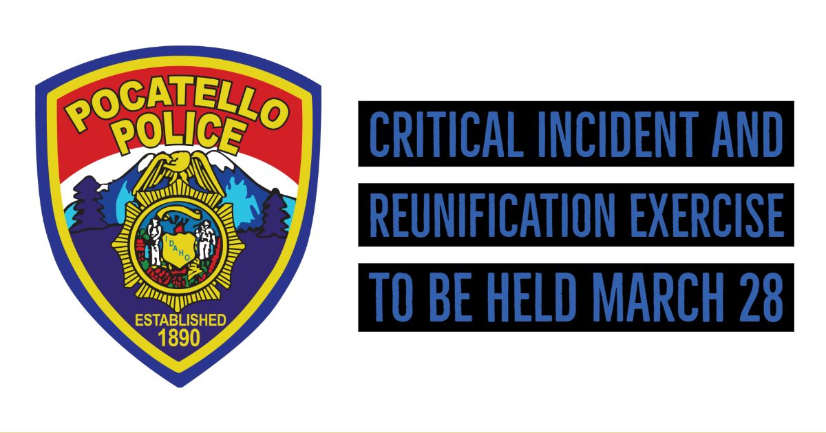 Pocatello Police badge