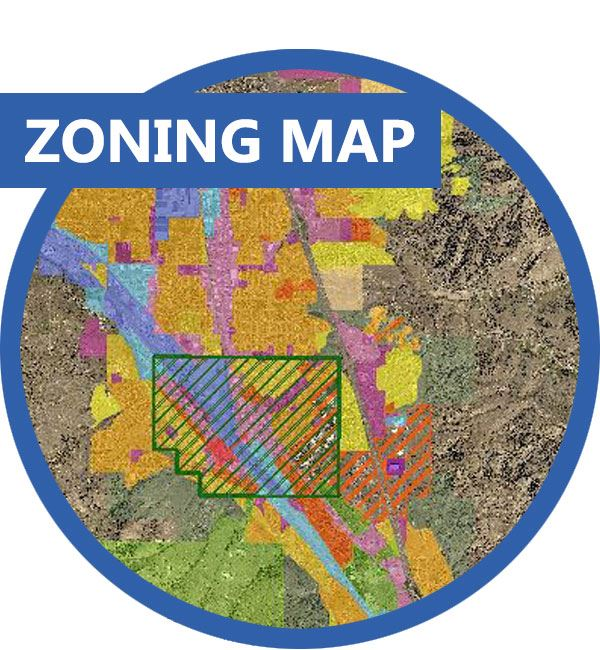 Zoning Map for the City of Pocatello