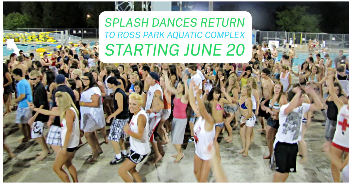 Ross Park Aquatic Complex Splash Dance