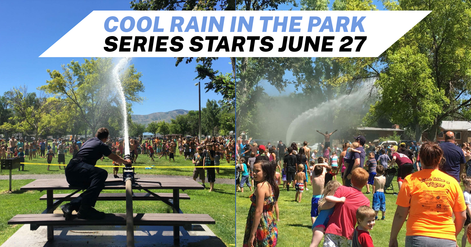 A Cool Rain event at Caldwell Park.