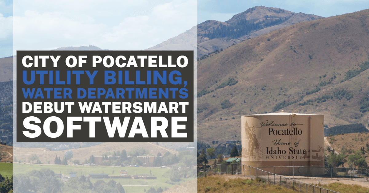 City of Pocatello water tank near I-15