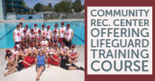 Lifeguards at the Ross Park Aquatic Complex