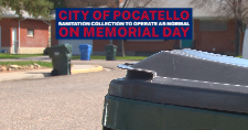 City of Pocatello Sanitation Department autocarts