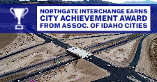 Aerial view of the Northgate Interchange