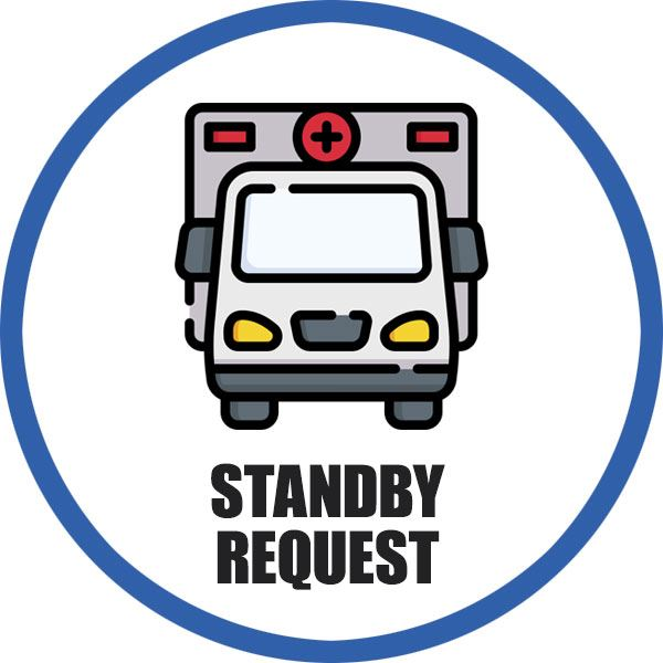 Pocatello Fire Department Ambulance Standby Request Form