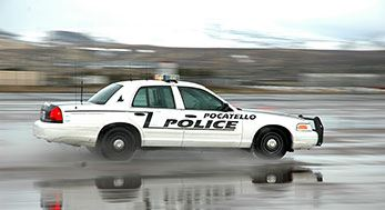 Pocatello Police Patrol Car