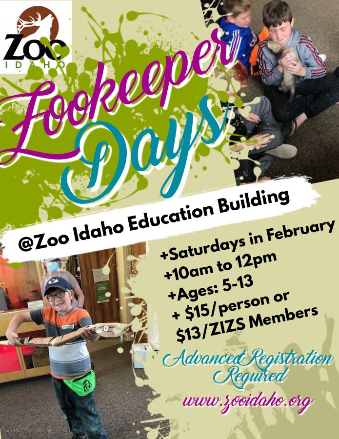 Zoo Idaho Jr. Zookeeper Days