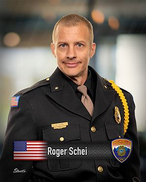 Chief Roger Schei of the Pocatello Police Department