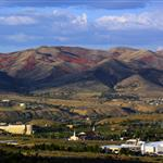 Fall View of Pocatello from Buckskin Road