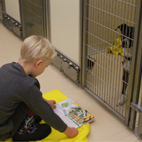 Pocatello Animal Services Pet Reading Program