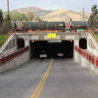 Pocatello Center Street Underpass